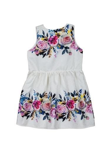 Puledro Elbise Beyaz